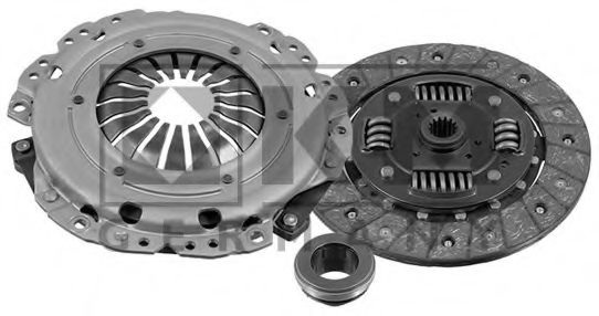 CLUTCH KIT FOR FORD FIESTA 1.3 08//1995-01//2002 4034